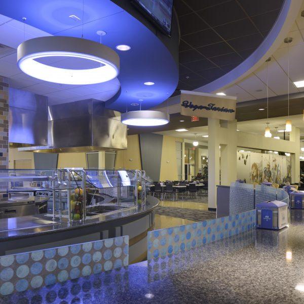 Sam Rayburn Student Center; TAMU Commerce; VAI Architects