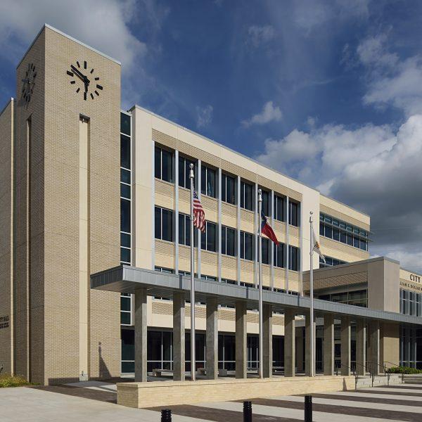Garland City Hall; VAI Architects; Hill & Wilkenson GC